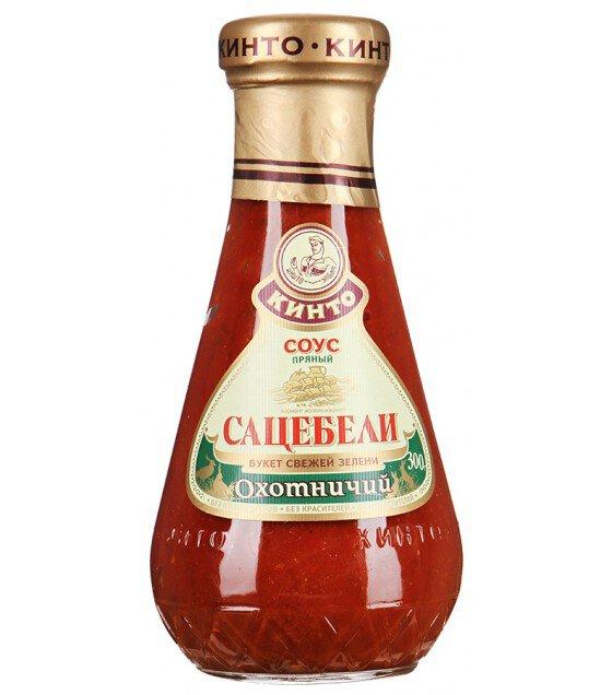 """Kinto Sauce """"Sacebeli Ohotnichiy""""- 300g (exp. 18.07.20)"""