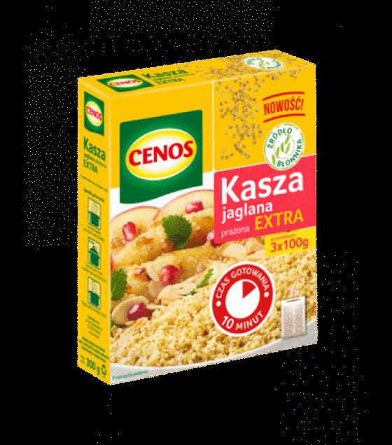 """CENOS Roasted Millet Extra """"Jaglana"""" (3 x 100g) - 300g (exp. 01.01.20)"""