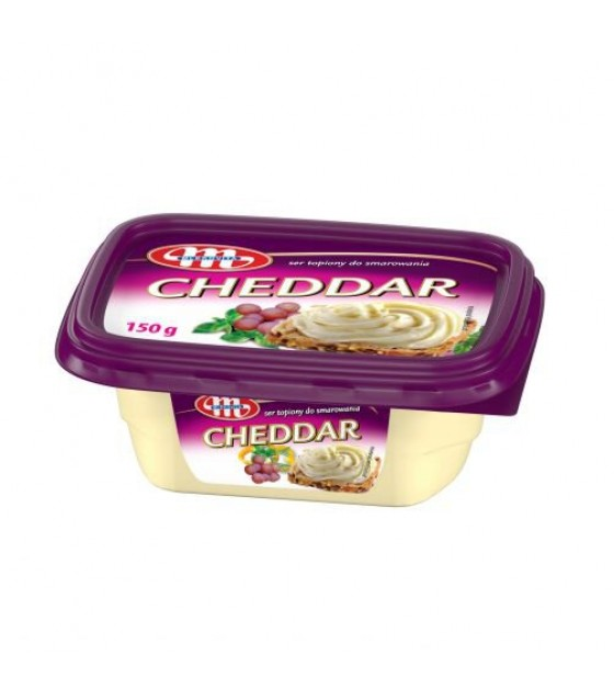 Mlekovita CHEDDAR Processed Cheese Spread - 150g (best before 27.12.20)