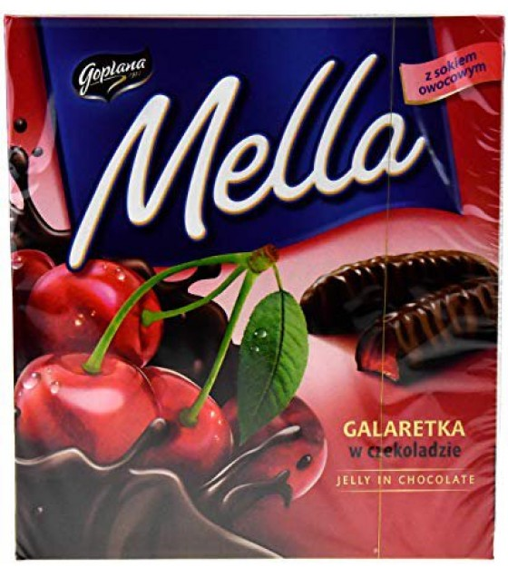 "Jelly in chocolate ""Mella"" Cherry - 190g (exp. 01.11.19)"