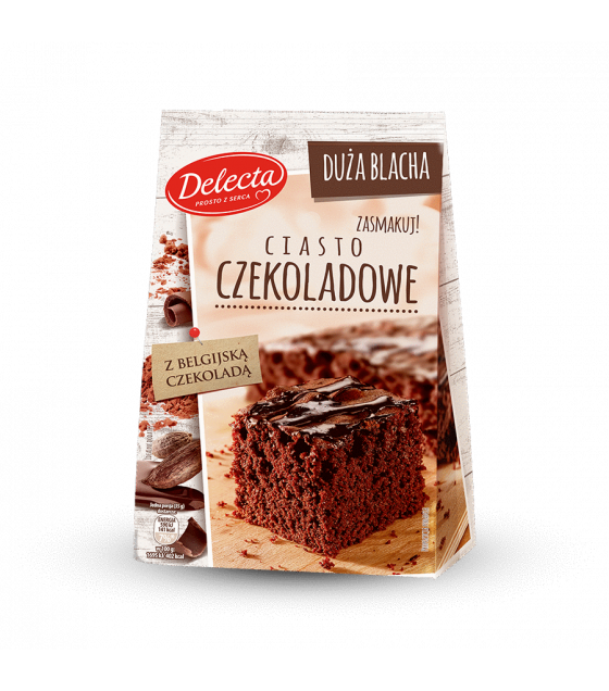 BAKALLAND Chocolate Cake Baking Mix (Ciasto Czekoladowe) - 670g (best before 30.11.21)