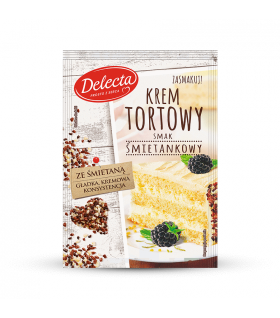 BAKALLAND Cream Cake Filling (Smietankowy) - 120g (best before 30.08.21)