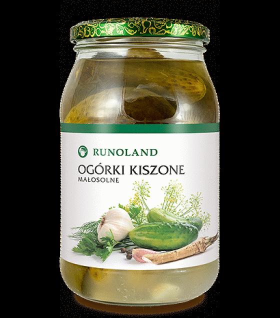 RUNOLAND Cucumbers in brine - 820g/460g (exp. 10.01.20)