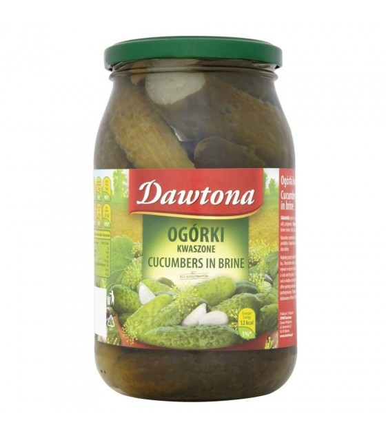 DAWTONA Cucumbers In Brine (without vinegar) - 900g (exp. 22.03.21)