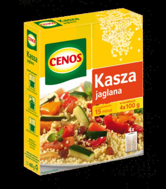 """CENOS Millet """"Jaglana"""" (4 x 100g) - 400g (exp. 03.12.19)"""