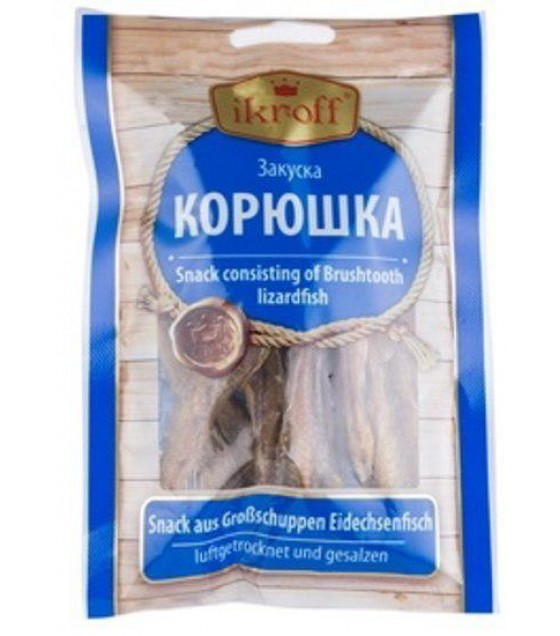 IKROFF Sun-dried Smelt - 36g (exp. 11.10.21)
