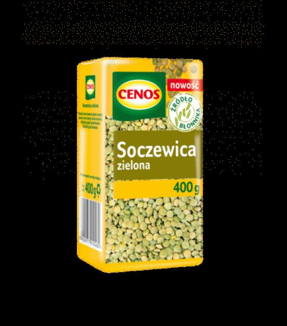 CENOS Green Lentils - 400g (exp. 30.03.21)