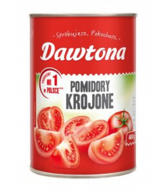 DAWTONA Chopped Tomatoes - 400g (exp. 20.08.21)
