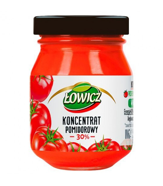 LOWICZ Tomato Concentrate 30% - 80g (exp. 01.03.21)