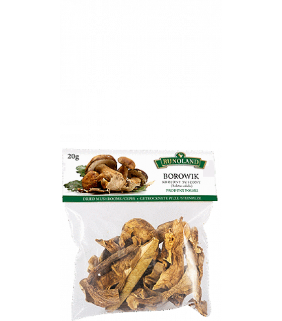 RUNOLAND Cepes Dried Wild Mushrooms - 20g (exp. 10.10.20)