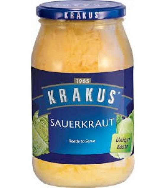 KRAKUS Sauerkraut - 490g (best before 01.12.22)