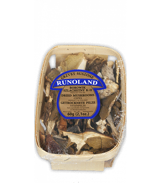 RUNOLAND Cepes Dried Wild Mushrooms - 60g (exp. 10.09.21)