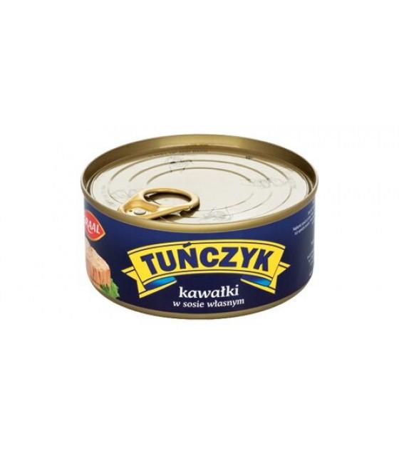 GRAAL Tuna Chunks In Brine - 170g (exp. 01.12.21)
