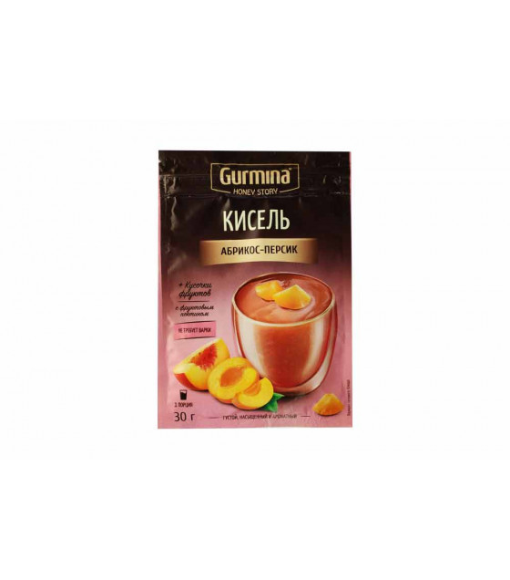 GURMINA Kissel Apricot and Peach - 30g (best before 30.03.23)