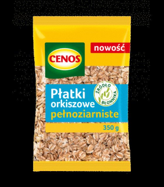 CENOS Whole Grain Spelt Flakes - 350g (exp. 03.12.19)