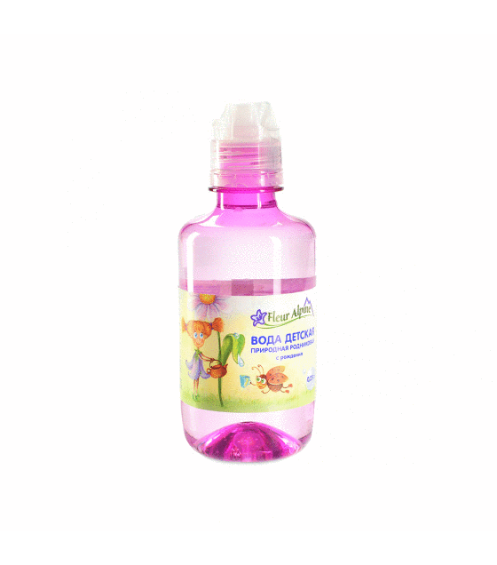 Fleur Alpine - Natural Spring Baby Water, from birth - 250g (exp. 21.03.20)