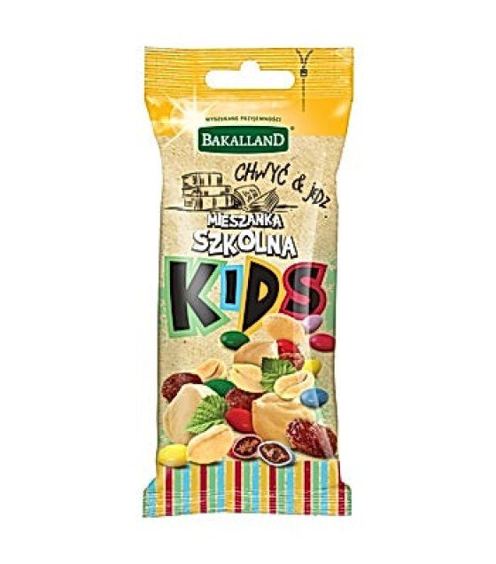 BAKALLAND KIDS Nuts School Mix - 50g (exp. 31.03.20)