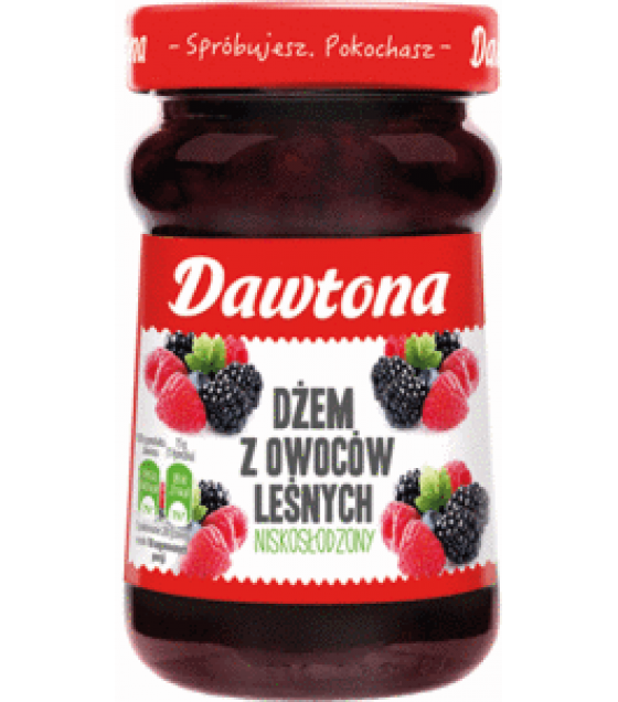 DAWTONA Forest Fruit Jam - 280g (exp. 20.02.20)