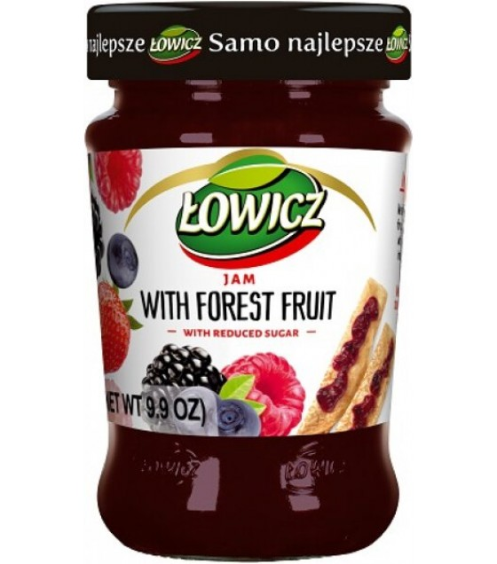 LOWICZ Forest Fruits Jam - 280g (exp. 01.11.20)