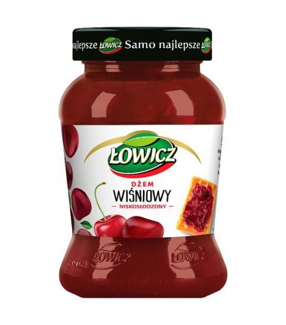 LOWICZ Low Sugar Cherry Jam - 450g (exp. 01.11.20)