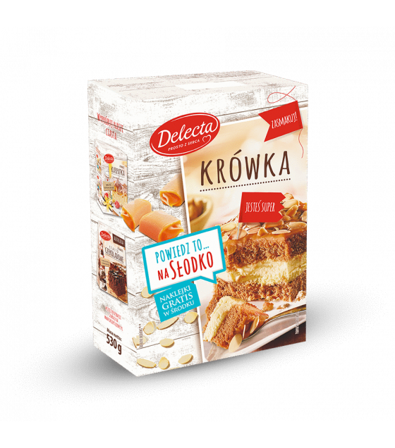 BAKALLAND Fudge Cake Baking Mix (Krowka) - 530g (best before 30.09.21)