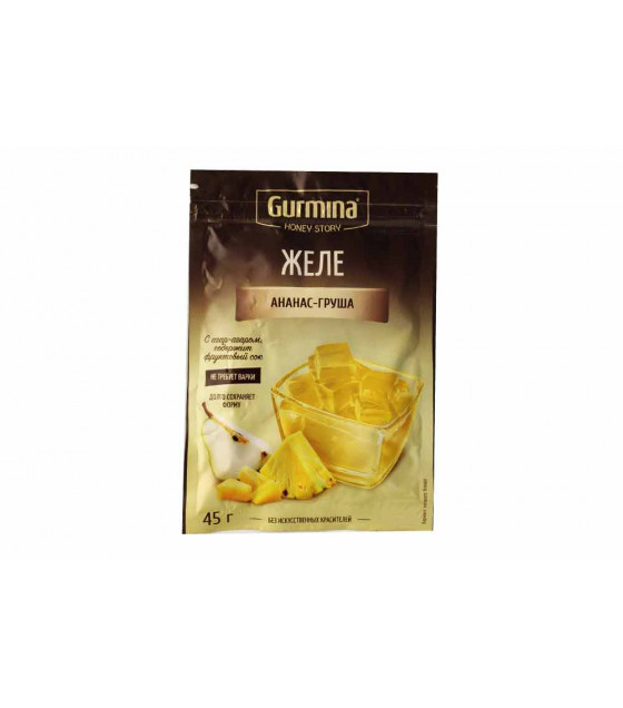 GURMINA Pineapple and Pear Jelly - 45g (best before 30.03.23)