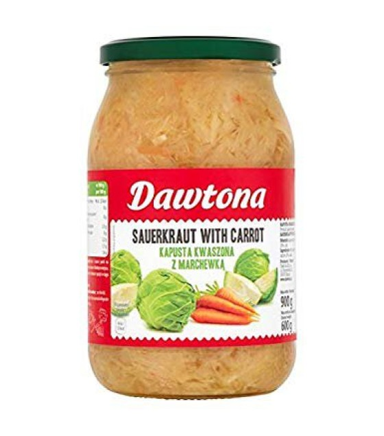 DAWTONA Sauerkraut with Carrot - 900g (exp. 04.12.20)