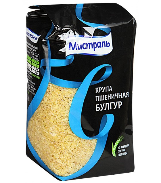 """MIstral"" Wheat groats ""Bulgur""  - 500g (exp. 11/17/19)"