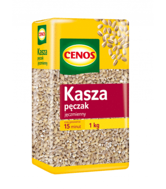 CENOS Barley Groats - 1kg (exp. 01.03.20)