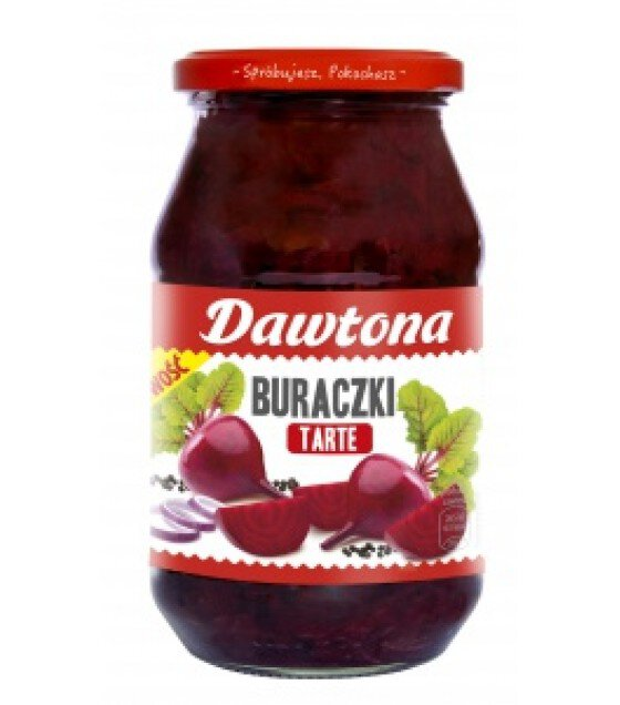DAWTONA Grated Beetroots - 500g (exp. 20.02.20)