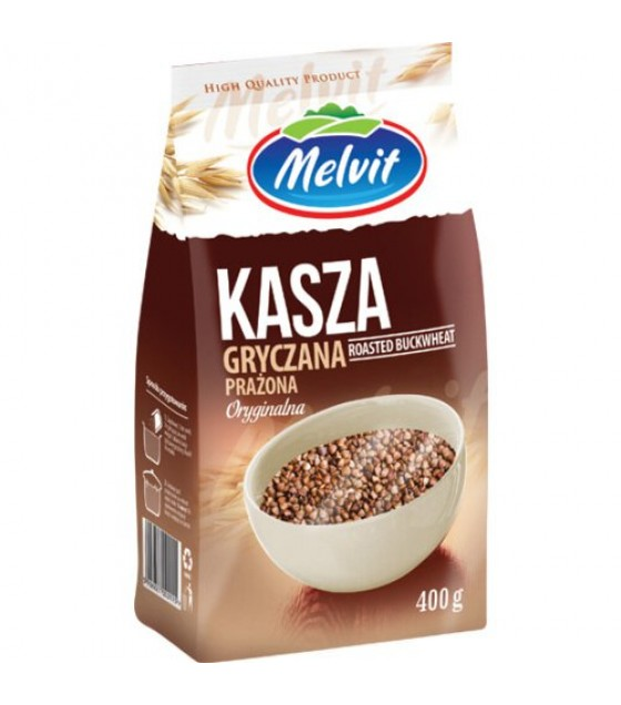 MELVIT Buckwheat - 400g (best before 21.03.22)