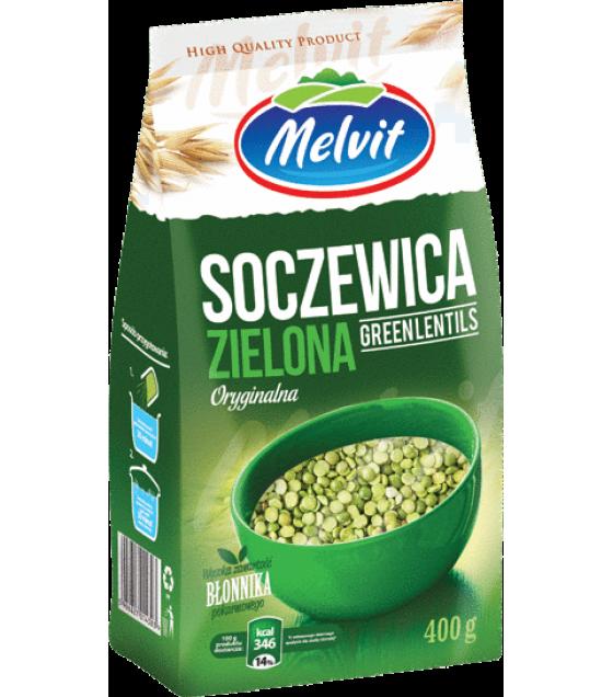MELVIT Green Lentils (Soczewica Zielona) - 400g (exp. 30.03.21)