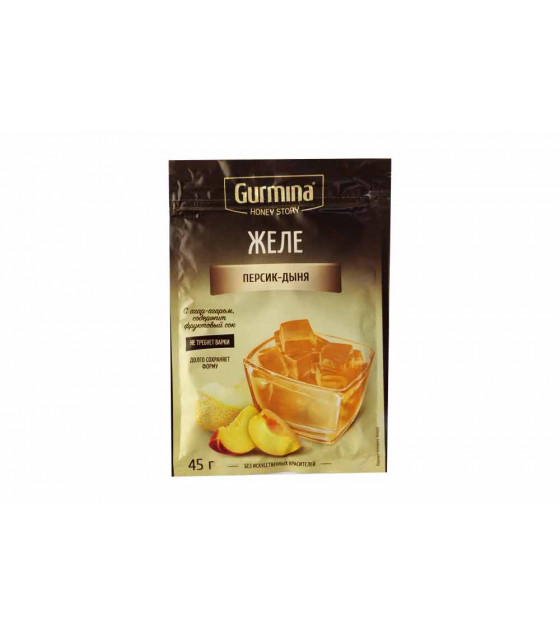 GURMINA Peach and Melon Jelly - 45g (best before 30.03.23)