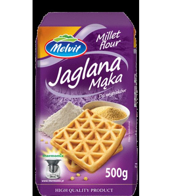 MELVIT Millet Flour (Jaglana) - 500g (exp. 06.09.20)