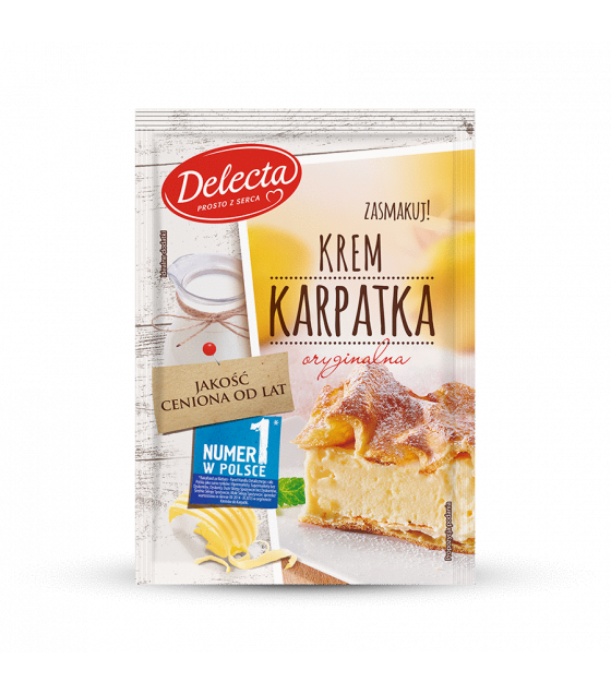 BAKALLAND Karpatka Cake Filling - 250g (best before 30.08.22)