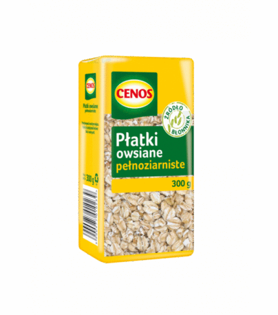 CENOS Whole Grain Oat Flakes - 300g (exp. 03.11.19)