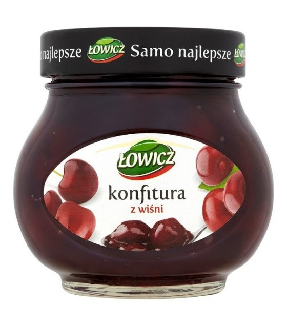 LOWICZ Cherry Confiture - 240g (exp. 01.11.20)
