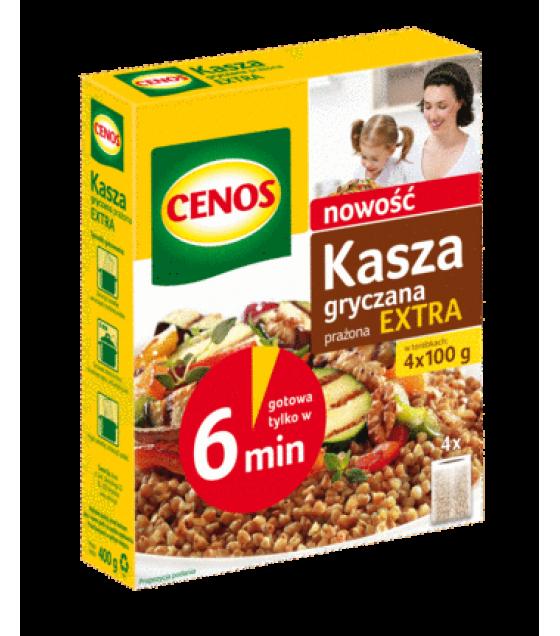 CENOS Buckwheat Groats Extra (4 x 100g) - 400g (exp. 01.01.20)
