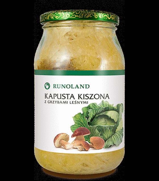 RUNOLAND Sauerkraut with Mushrooms - 900g/720g (exp. 10.01.20)