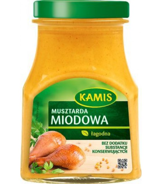 KAMIS Honey Mustard - 185g (exp. 16.12.19)