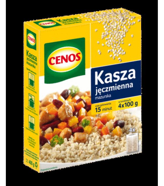 CENOS Barley Groats Masurian (4 x 100g) - 400g (exp. 02.02.20)
