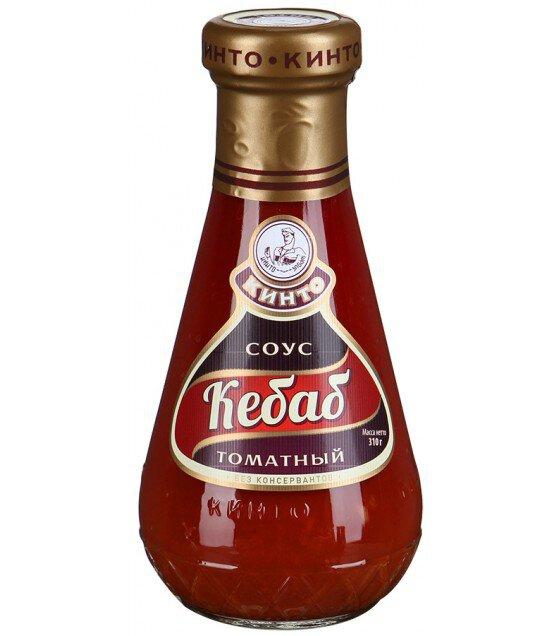 """Kinto sauce """"Kebab Tomatnyy"""" - 310g (exp. 28.06.20)"""