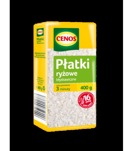 CENOS Rice Flakes - 400g (exp. 01.02.20)