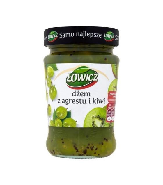 LOWICZ Gooseberry-Kiwi  Jam - 280g (exp. 01.11.20)