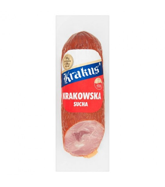"KRAKUS Sausage ""Krakowskaya"" pork with steamed scalded meat - 320g (exp. 08.05.20)"