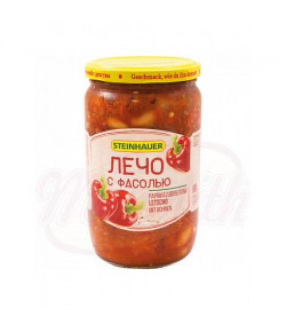 STEINHAUER Lecho with Beans - 680g (best before 31.10.22)