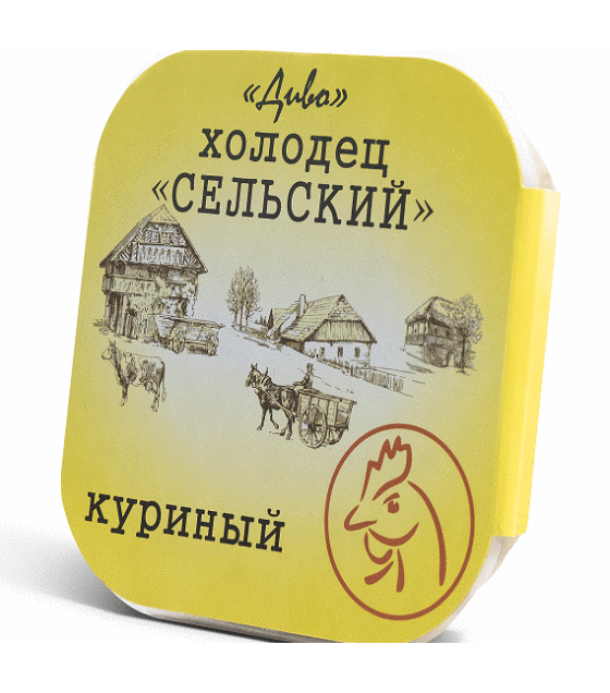 """Jelly Holodets """"Diva"""" country-style, chicken - 300g (exp. 23.11.19)"""
