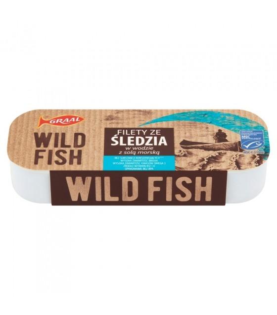 GRAAL Wild Fish Herring Fillets In Water With Sea Salt - 120g (exp. 01.02.23)