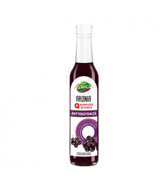 LOWICZ Pro-Health Aronia Syrup - 250ml (exp. 01.02.21)