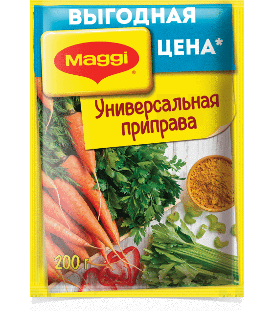 """Maggi"" universal seasoning - 200g (exp. 23.08.19)"